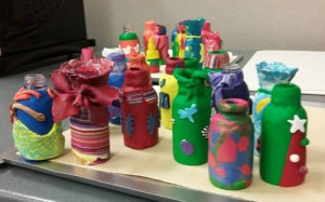 Bottles ready to brighten someone's day!